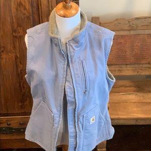 Carhartt EUC fleece lined vest